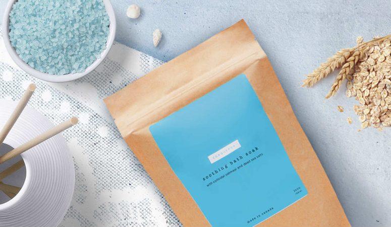 eczema bath soak oatmeal