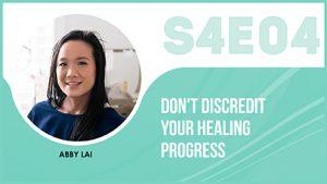 eczema healing progress